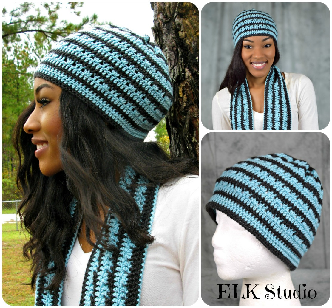 Perfect Storm Beanie by ELK Studio! Get Your FREE Crochet Pattern!