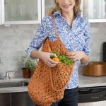 Lacy Crochet Market Bag