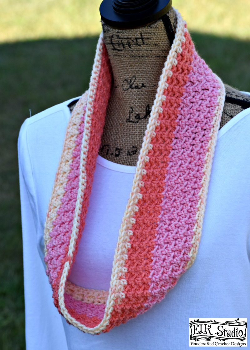 Crochet Patterns For Sweet Roll Yarn : Swirling Pebbles Scarf! Project #6 2016 Christmas Present ...
