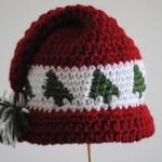 crochet-cap-trees-go-round