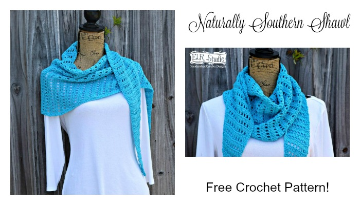 Naturally Southern Shawl Part 1
