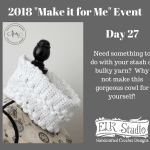 2018 Make it for Me Day 27