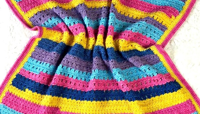 Hannah Kate's Baby Blanket Crochet-Along Week 1