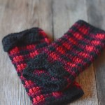 ELK Studio Saturday Crochet Show #103 Plaid Arm Warmers