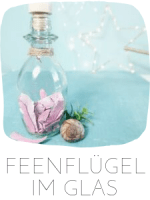FEENFLÜGE IM GLAS HERBST DIY IDEE