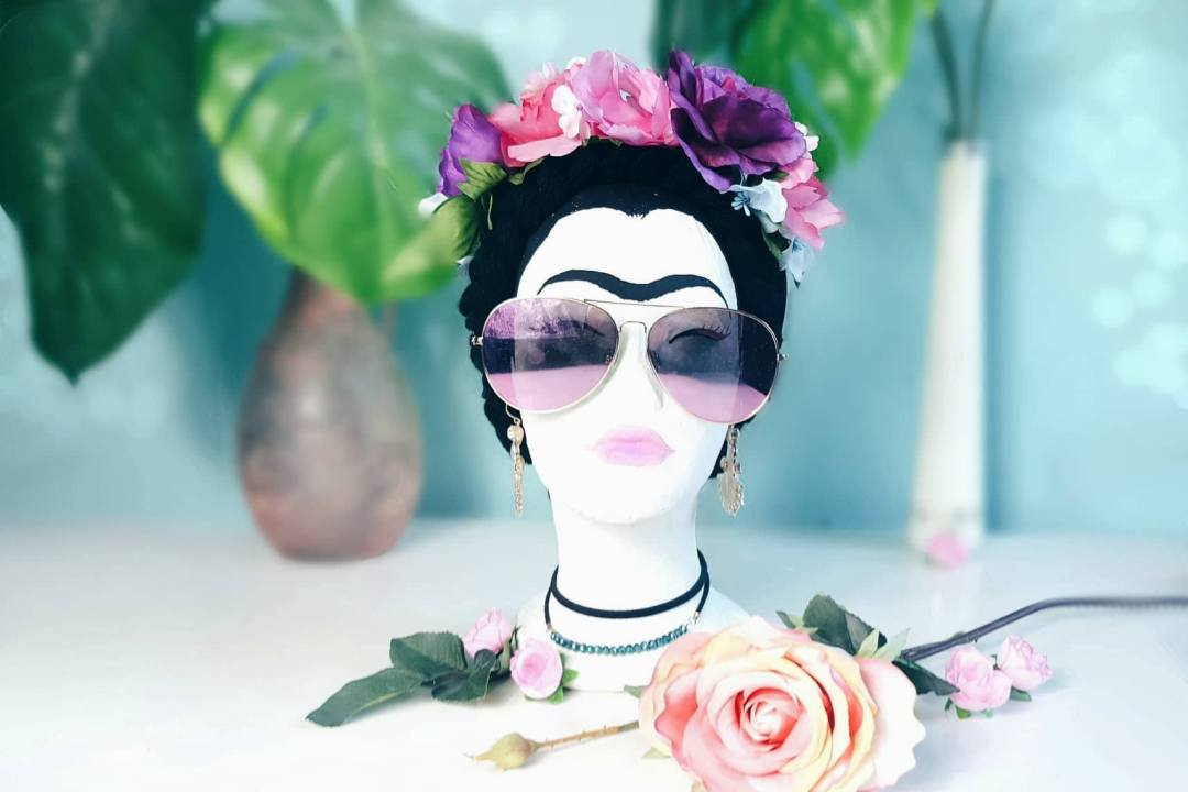 Frida Kahlo home deko diy selbermachen handgemacht basteln schmuckständer