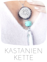 KASTENIEN KETTE HERBST DIY BASTELN
