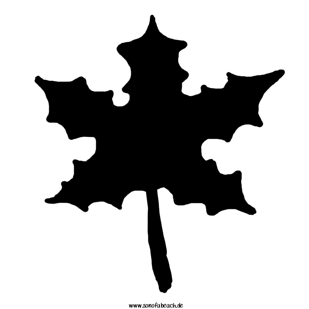 ahornblatt halloween herbst