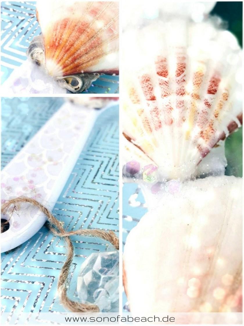 diy upcycling mermaid spiegel meerjungfrau maritim basteln diy handgemacht geschenk
