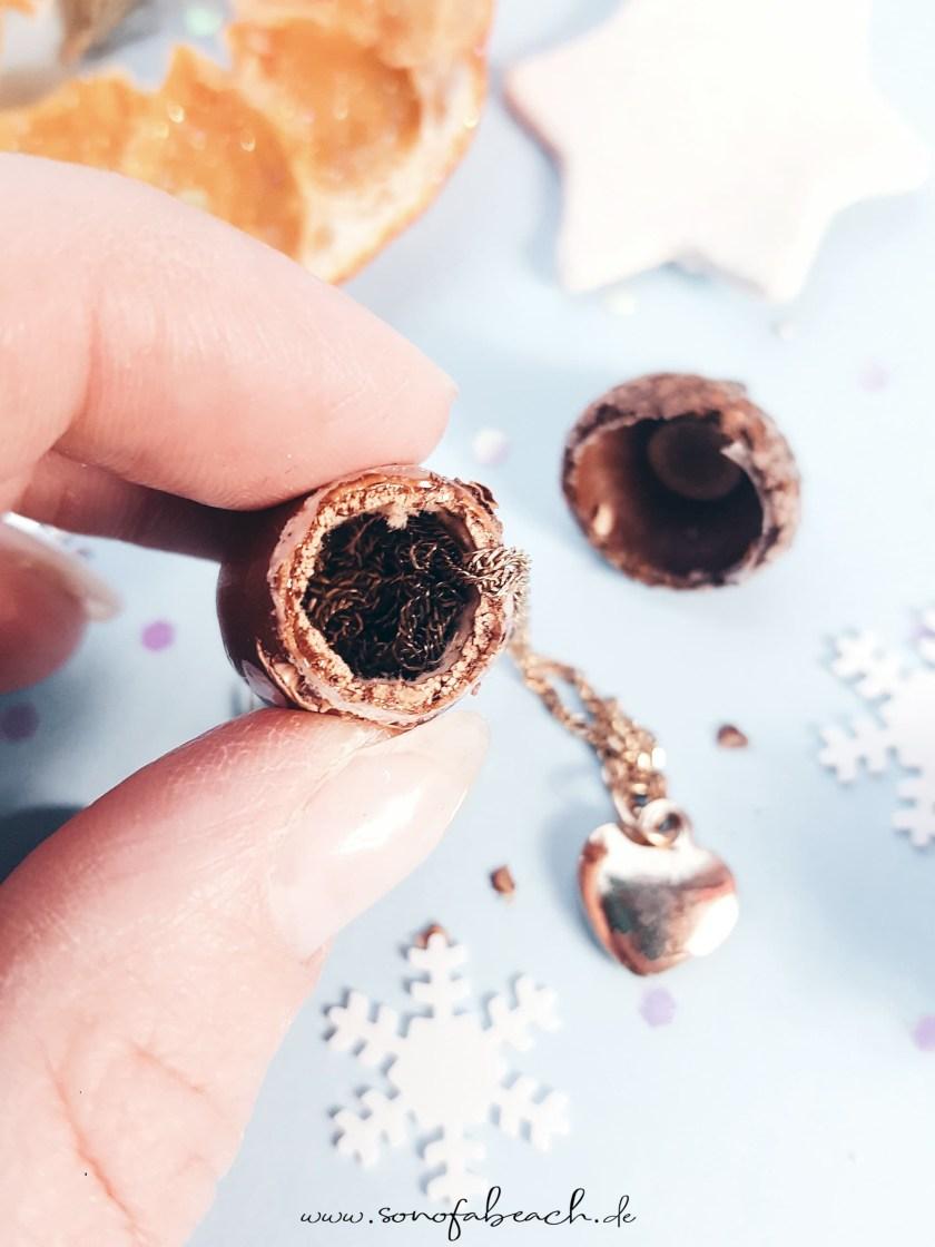 eichel geschenkverpackung nikolaus weihnachten basteln diy geschenke selbermachen