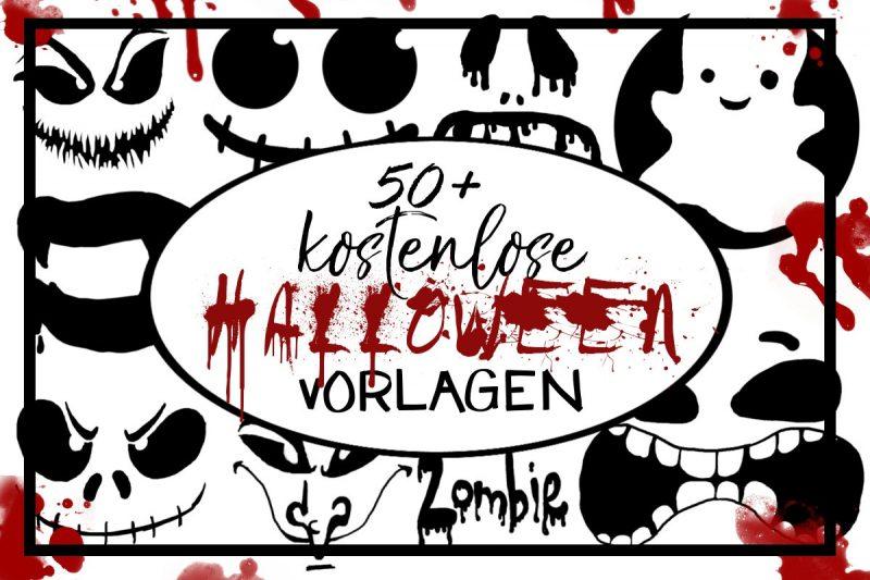 Free Download 50 Halloween Vorlagen Viele Verschiedene Motive