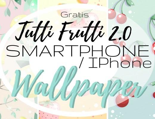 startphone iphone wallpaper free gratis kirsche zitrone erbeere hintergrund