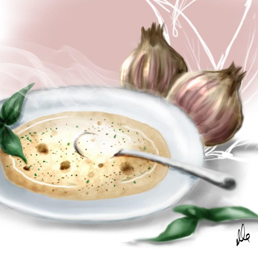 suppe illustration food soup essen