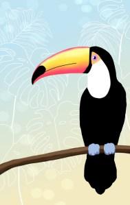 monstera wallpaper free kostenlos tropical tropisch iphone smartphone android papagei flamingo tukan kakadu