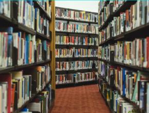 Estanterías de biblioteca