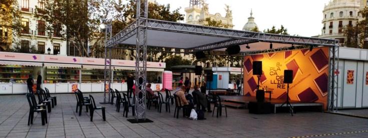 Plaça del Llibre.