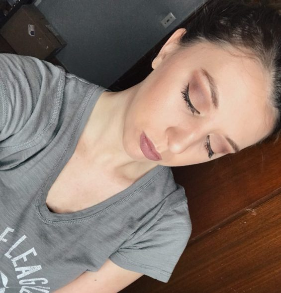 Makeup look inspired by Ulta Beauty products for Boston College Fashion Week