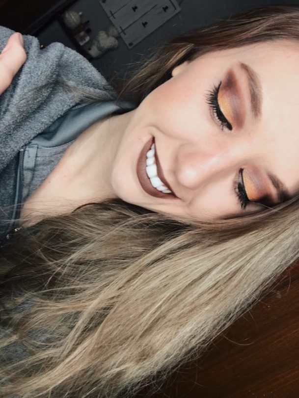 Fall inspired makeup look using BUXOM beauty products. BUXOM Cosmetics review and swatches.
