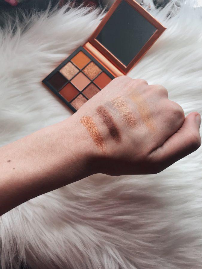 My favorite eyeshadow palettes featuring Huda Beauty's Topaz palette