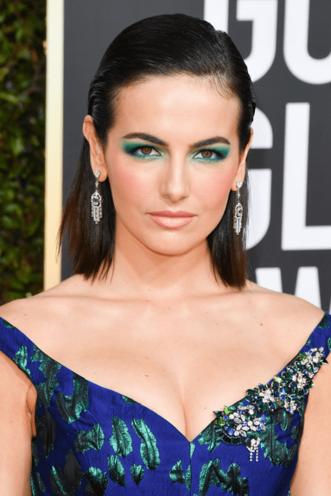 10 makeup hairstyle red carpet golden globe 2019