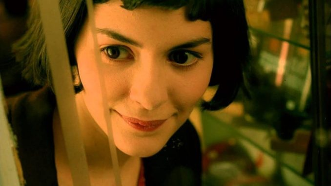 Actress Audrey Tatou with French bob hair in the famous movie Amélie.