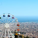 Mt. Tibidabo: A Ferris Wheel and a View