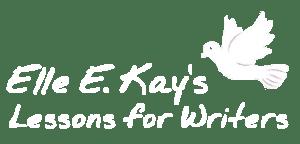 Elle E. Kay's Lessons for Writers Logo