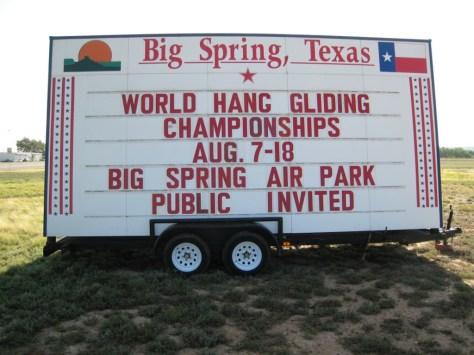 Big Spring airport