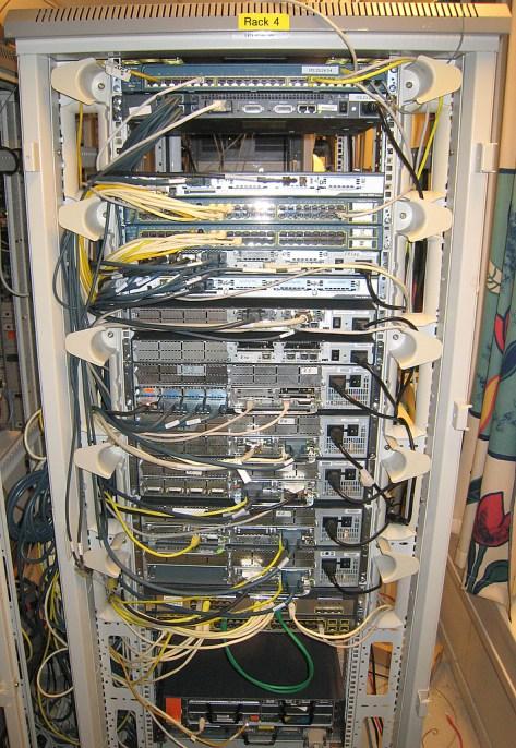 CCIE rack