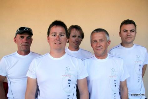 Norwegian team at the Worlds 2011