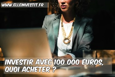 100 000 euros investir en immobilier