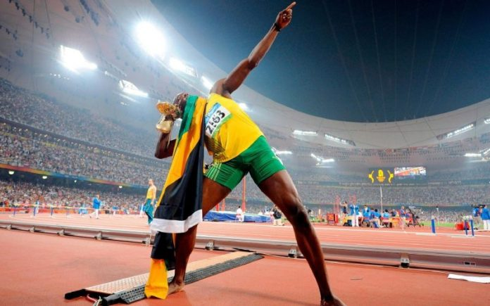 """With Usain Bolt - The man dubbed """"Black Lightning"""", running is not only forging strong legs"""