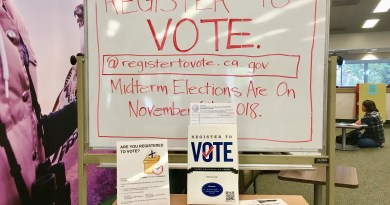 Students, Sign Up for Upcoming Elections
