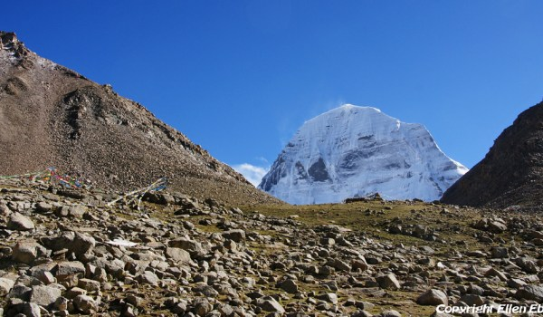 Day 1 of the kora: the north face of Mount Kailash (2012)