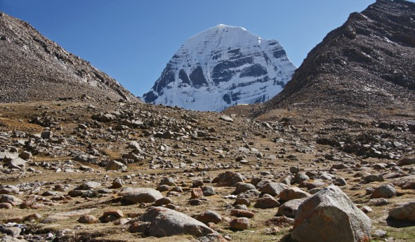 Day 1 of the kora: the north face of Mount Kailash (2011)