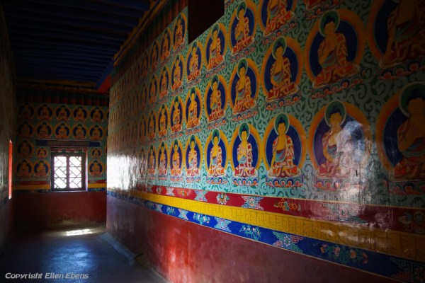 At the second floor of the temple at Zhatang Monastery
