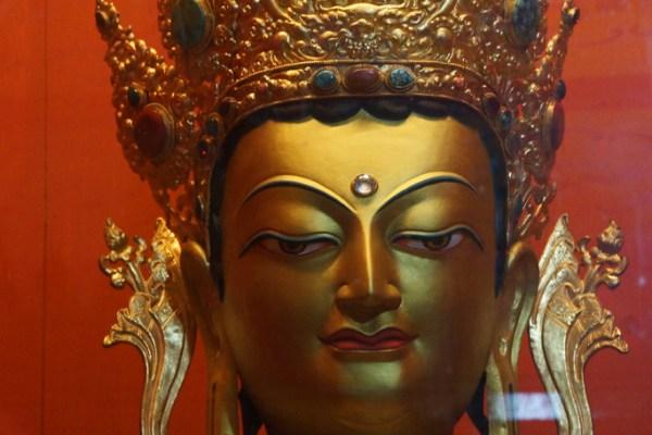 Inside Thandruk Monastery