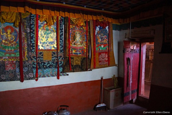 Inside Kamadang Temple