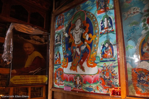 Inside Kamadang Temple