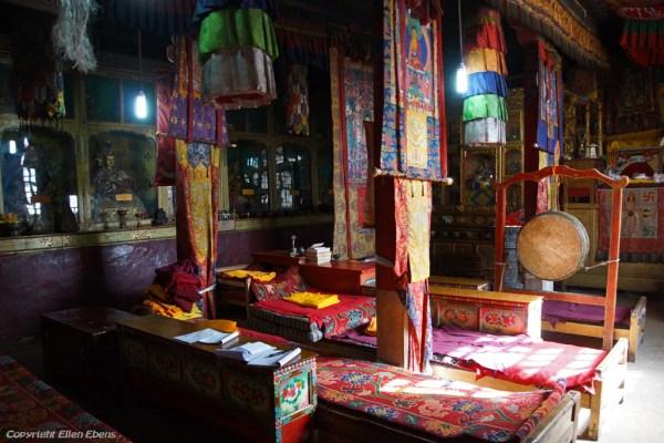 Inside Densatil Monastery
