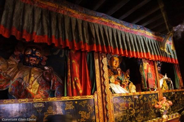 Inside Shalu Monastery