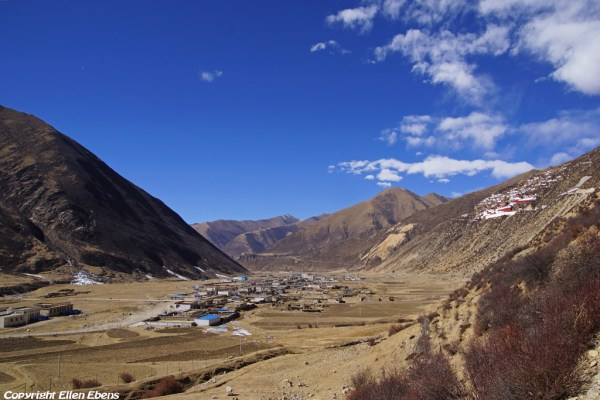 View on Drigung Til Monastery
