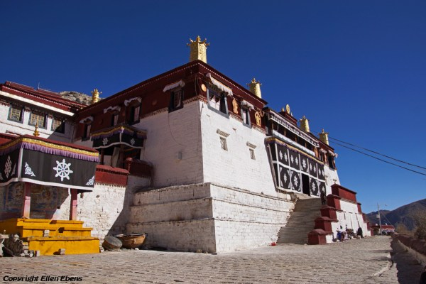 Ganden Monastery was founded by master Tsongkhapa in the year1409. The monastery was destroyed after 1959, but has since been rebuilt
