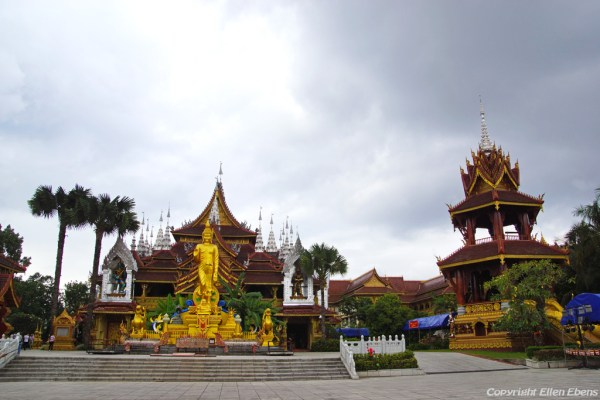 The big Buddhist Temple at Manting Park, Jinghon, Xishuangbanna