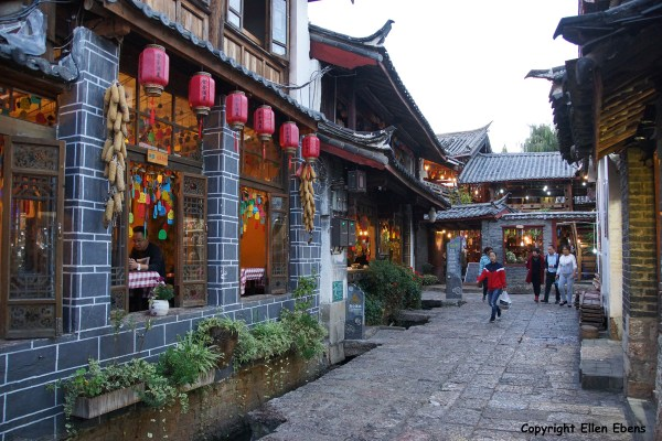 The ancient city of Lijiang