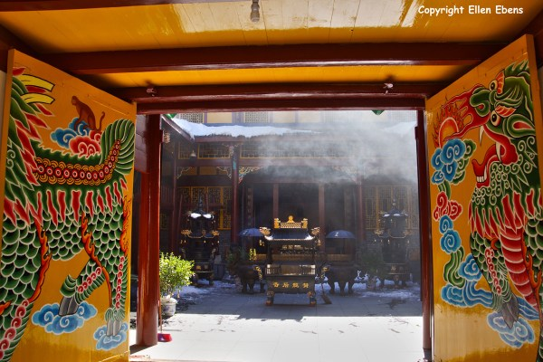 Huanglong National Park, Ancient Temple