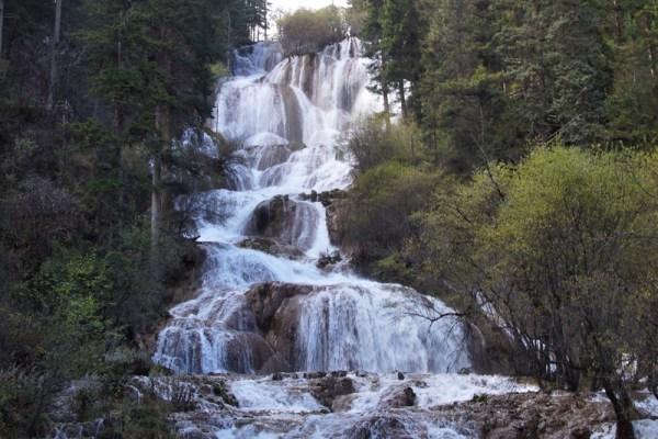 Zhaga Waterfall at Mounigou Valley, Songpan County