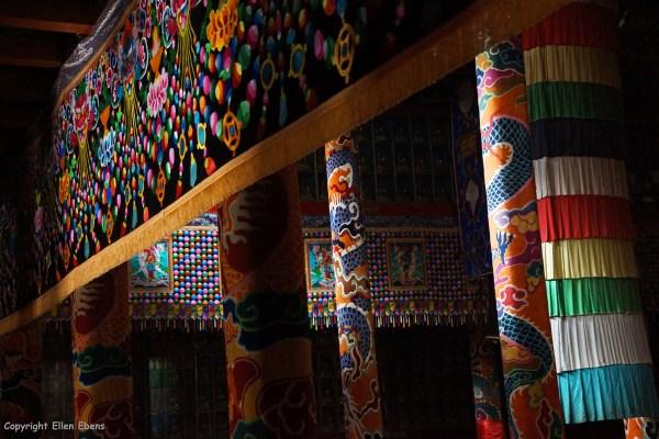 Kyangtsang Monastery, Shanba village (near Songpan), a Bön monastery