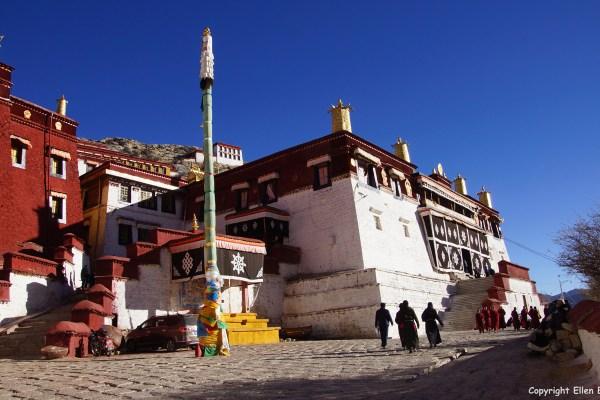 Ganden Monastery, the main Assembly Hall