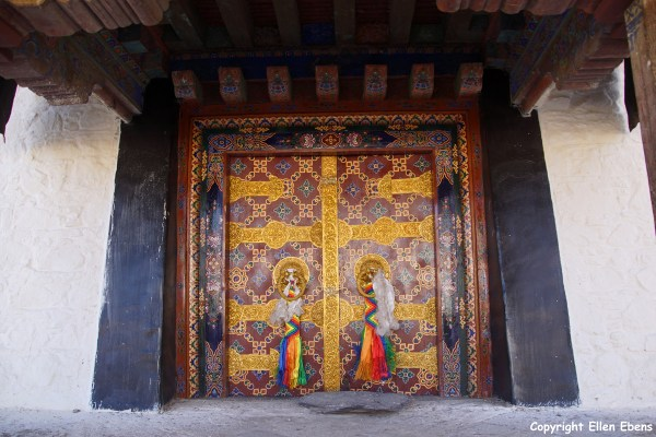 Door at Samye Monastery